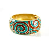 Affordable and Trendy Fashionable Jewelry | Gold metal cuff bracelet